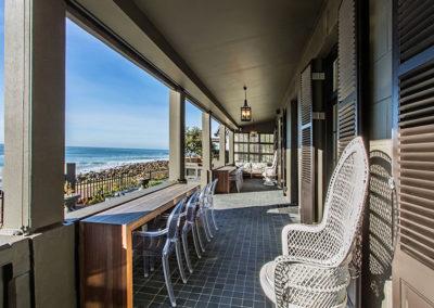 Beach House stoep