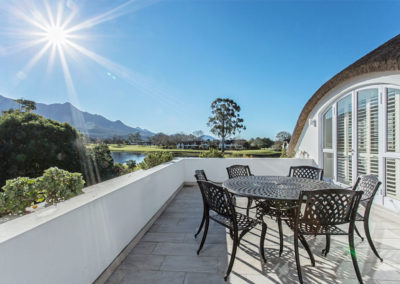 Fancourt House: upstairs exterior