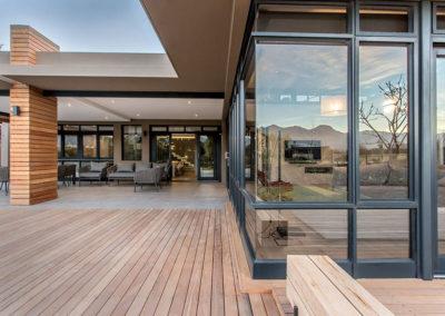 Montague Ridge House deck