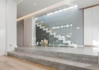 Montague Ridge House stairway